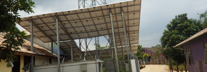 PV System Relocation for PT Dayamitra Telekomunikasi